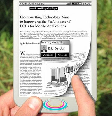 Прототип электронной книги с EWD-экраном
