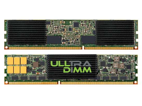 SSD ULLtraDIMM компании SanDisk: флэш-диск вместо планок памяти