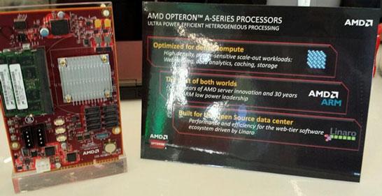 Плата AMD с процессором Opteron A1100 в «формфакторе» common slot architecture