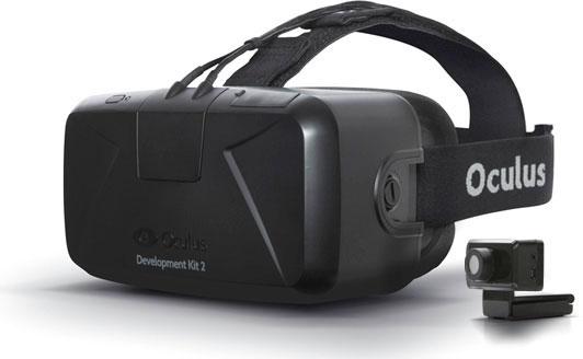 Шлем Oculus Rift DK2 (второго поколения) для погружения в виртуальную реальность