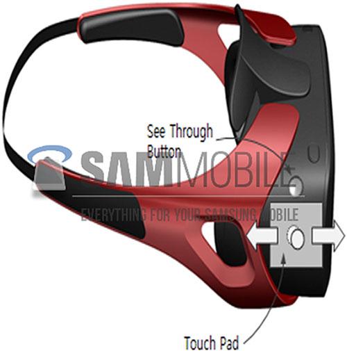 Так может выглядеть шлем Samsung Gear VR