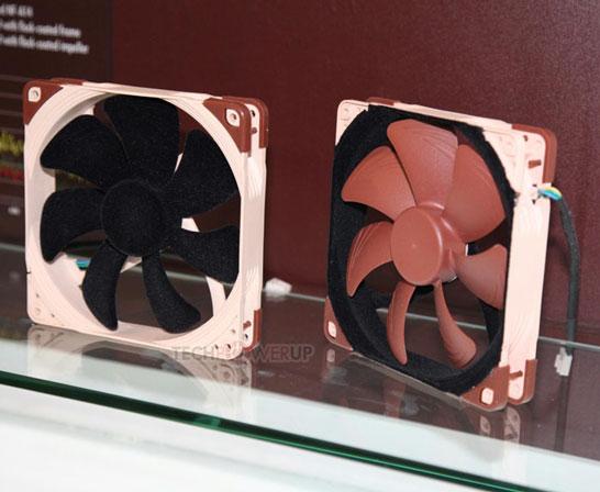 Вентиляторы с «шерстяной» поверхностью крыльчатки