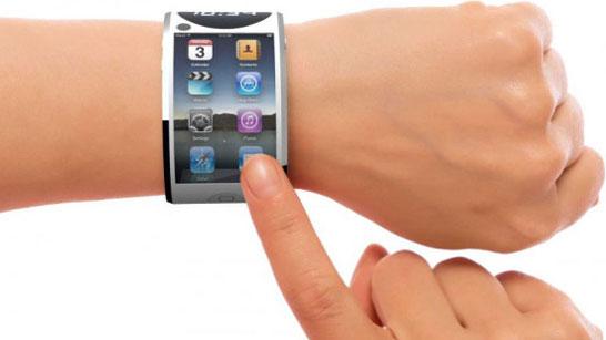 Вот так могли бы выглядеть «умные» часы компании Apple