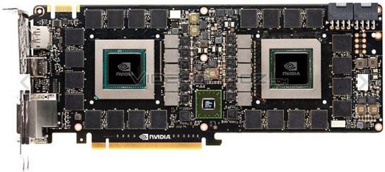 Изображение печатной платы видеокарты NVIDIA GTX Titan Z