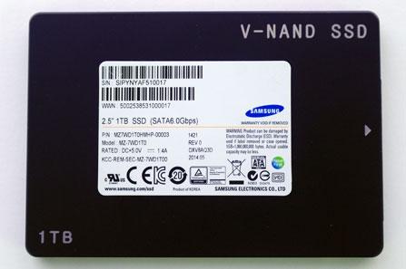 Первые потребительские SSD на памяти Samsung 3D V-NAND
