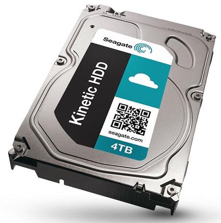 Жёсткий диск Seagate ST4000NK0001 ёмкостью 4 ТБ с интерфейсом Ethernet