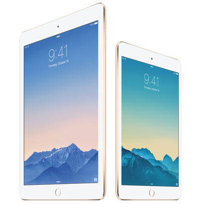 Два обновлённых планшета компании Apple: iPad Air 2 и iPad mini 3