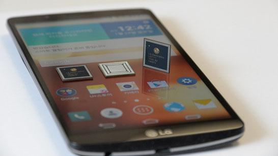 Смартфон LG Screen с 5,6-дюймовым IPS-экраном