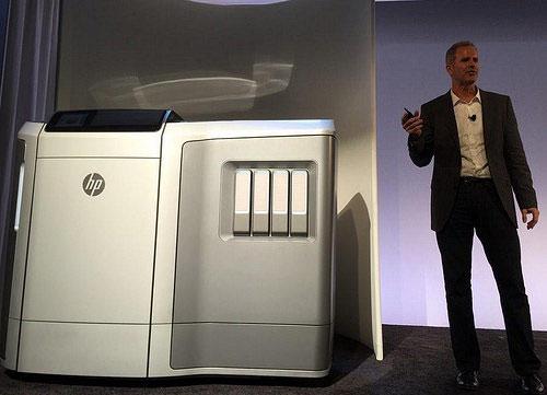 Первый рабочий прототип 3D-принтера HP в индустриальном исполнении