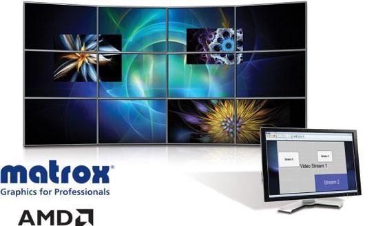 Matrox начинает переходить на графические процессоры компании AMD