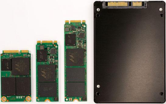 Новые SSD компании Micron на любой «вкус и цвет»