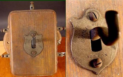 Самый первый телефонный коммутатор