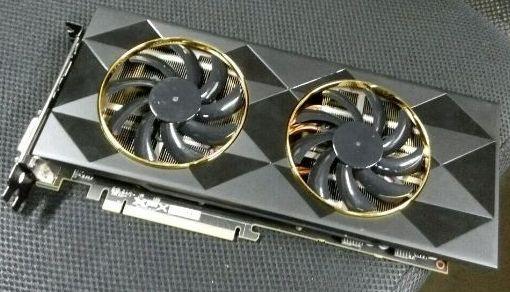 Видеокарта, выдаваемая за адаптер XFX Radeon R9 380 (или R9 390)