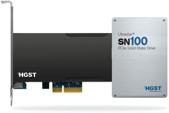 SSD HGST Ultrastar SN100 и Ultrastar SN150