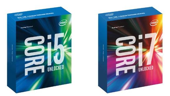 Новая и оригинальная упаковка для коробочных версий процессоров Intel