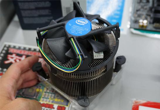Процессорный кулер Intel TS15A для платформы LGA 1151 (Skylake)