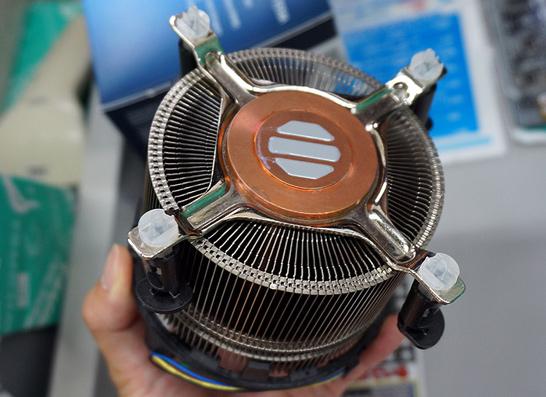 Intel TS15A: вид со стороны подошвы