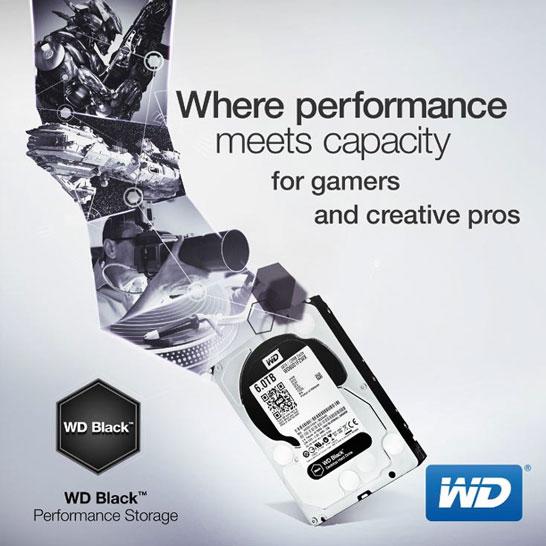 WD Black: для игр, для творчества, для работы