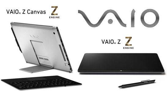 Первый» международный продукт под брендом VAIO: трансформируемый ноутбук Vaio Z Canvas