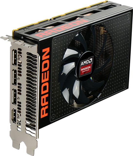 Видеокарта AMD Radeon R9 Nano (GPU Fiji + память HBM)