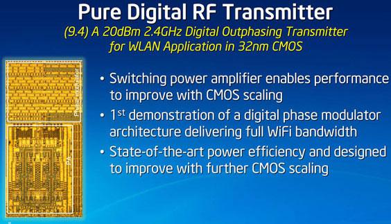 Радиочастотные усилители и модуляторы станут важным атрибутом процессоров завтрашнего дня