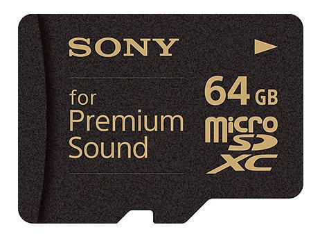Флэш-карточка Sony SR-64HXA «Premium Sound»