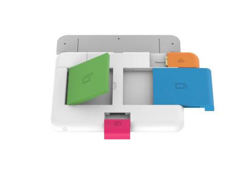 Модульная конструкция ноутбука. Компании LEGO пора требовать отчисления.