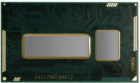 Фотография процессора Broadwell-U с графикой Intel Iris 6100