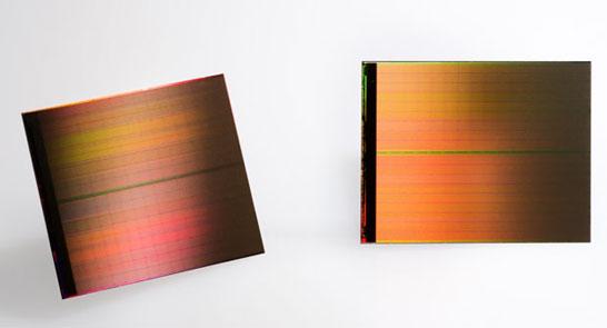 Образцы 128-Гбит кристаллов памяти 3D XPoint
