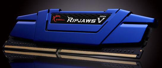 Модули памяти DDR4 в линейке G.Skill Ripjaws V