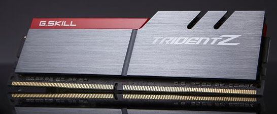 Модули памяти DDR4 в линейке G.Skill Trident Z