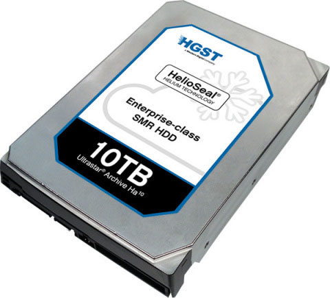 Жёсткий диск HGST Ultrastar Archive Ha10: 10 ТБ в 3,5-дюймовом формфакторе