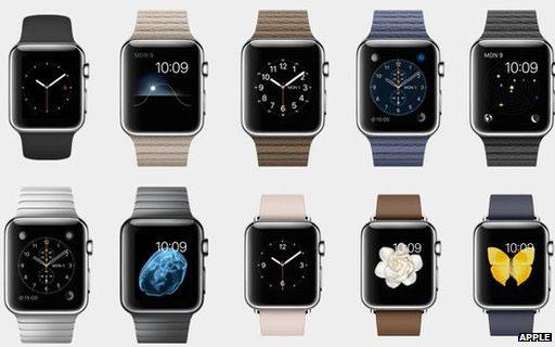 Мнимое многообразие моделей «умных» часов Apple Watch