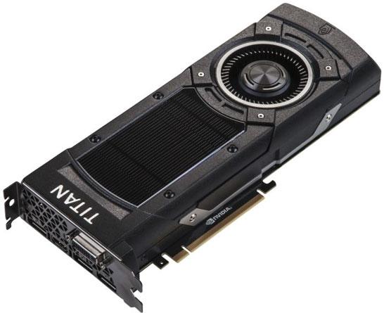 Эталонный дизайн видеокарты NVIDIA GeForce GTX Titan X