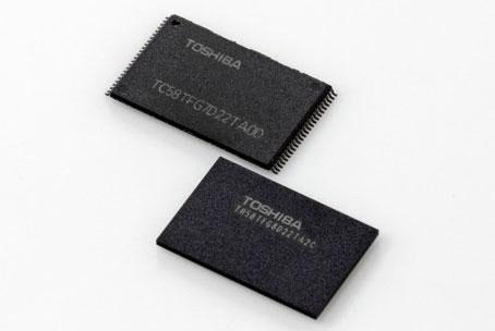 Образцы 48-слойной памяти BiCS (3D NAND-флэш) компании Toshiba