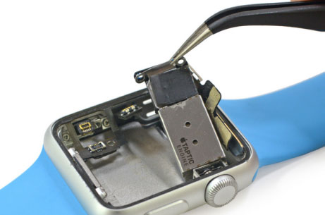 Блок «taptic engine» в часах Apple Watch