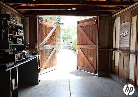 Тот самый гараж, с которого началась компания Hewlett-Packard