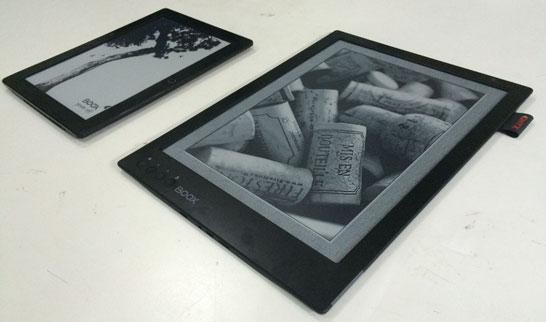 К выходу готовится 13,3-дюймовый букридер на экране E Ink компании Onyx