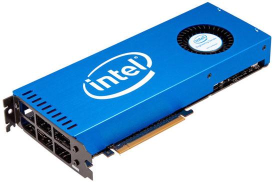 Ускоритель Xeon Phi в виде универсального адаптера с шиной PCI Express