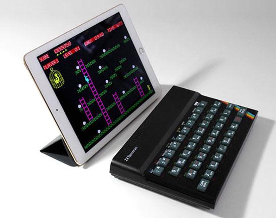 Recreated ZX Spectrum (планшет в комплект не входит)