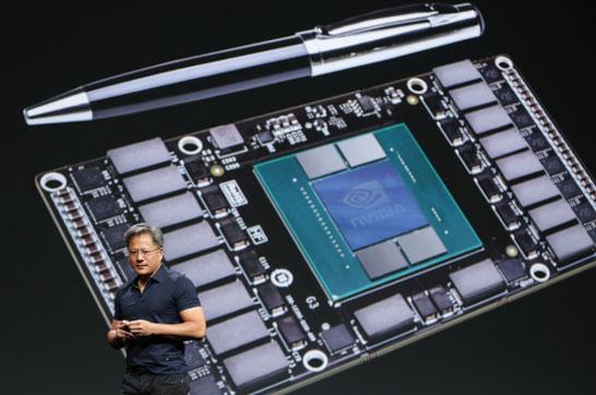 Прототип модуля GPU NVIDIA Pascal с памятью типа HBM