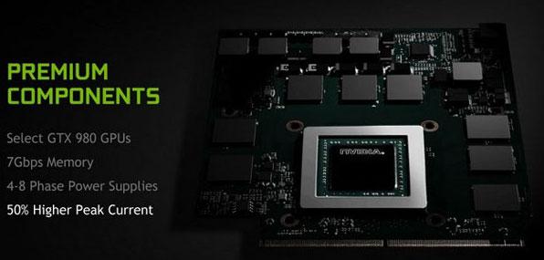 Ноутбучная версия настольной видеокарты NVIDIA GeForce GTX 980