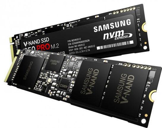 SSD Samsung 950 Pro (формфактор M.2)