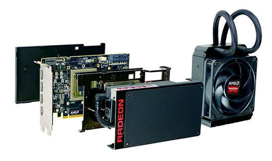 Компания Cooler Master выбрана производителем СЖО для видеокарты AMD Radeon R9 Fury X