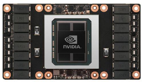 Графический адаптер на базе GPU NVIDIA GP100