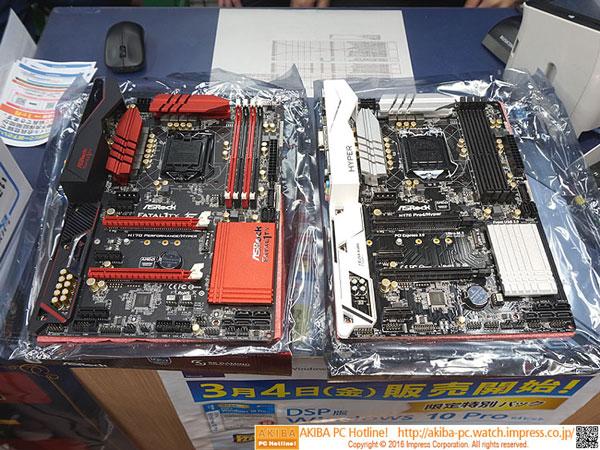 Две «оверклокерские» платы ASRock на чипсетах Intel H170
