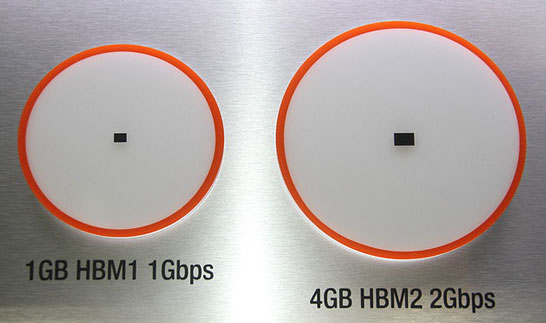 На GTC 2016 компания SK Hynix показала фирменную память HBM второго поколения