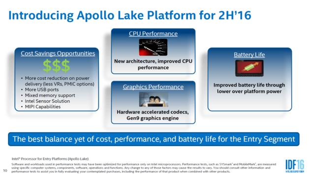 Представлена новая «сверхбюджетная » ПК-платформа Intel Atom Apollo Lake