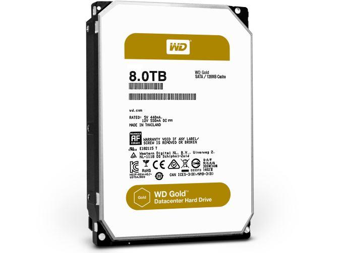 Новая серия «цветных» жёстких дисков компании Western Digital