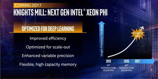 Intel Xeon Phi Knights Mill — промежуточное решение с акцентом на конъюнктуру